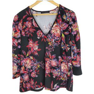 Ashley Stewart Womens Blouse Size 18/20 Floral